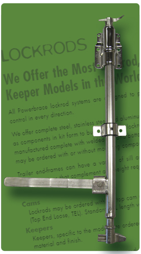 Powerbrace has the most lockrod, cam and keeper models in the world!