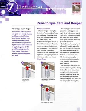 Zero-Torque Cam and Keeper