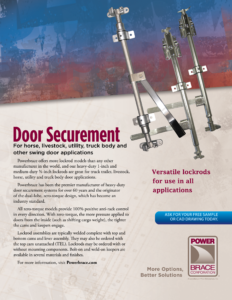 Door Securement information Sheet